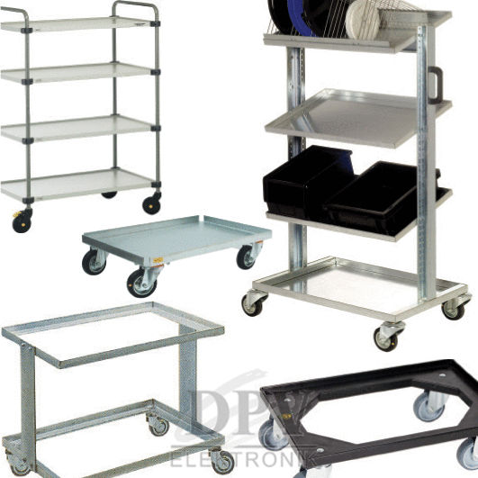 Transport / shelf trolleys