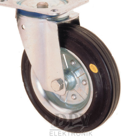 Conductive wheels and castors