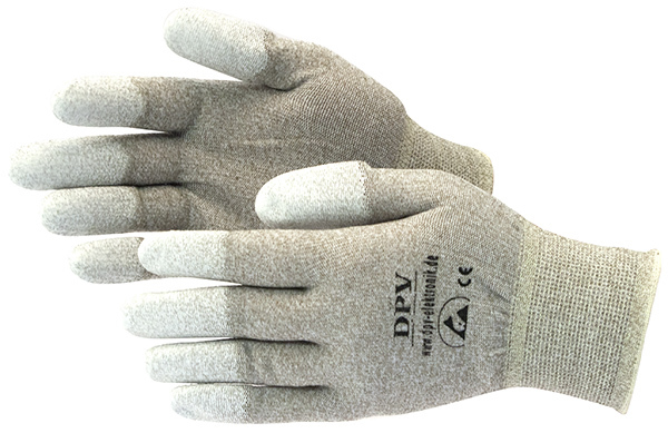 "Handschuhe ESD, Textil ""Ampere 2-PU"" [RP]"